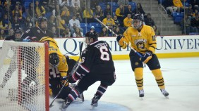 Quinnipiac men's hockey vs St. Cloud State 10/24/15