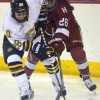 Quinnipiac women's hockey vs Harvard 12/5/15
