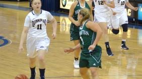 Quinnipiac women's basketball vs Manhattan 12/6/15