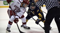 Quinnipiac men's hockey vs Harvard at MSG 1/9/16