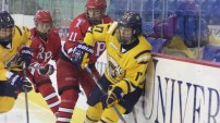 Women's ice hockey tops RPI in OT