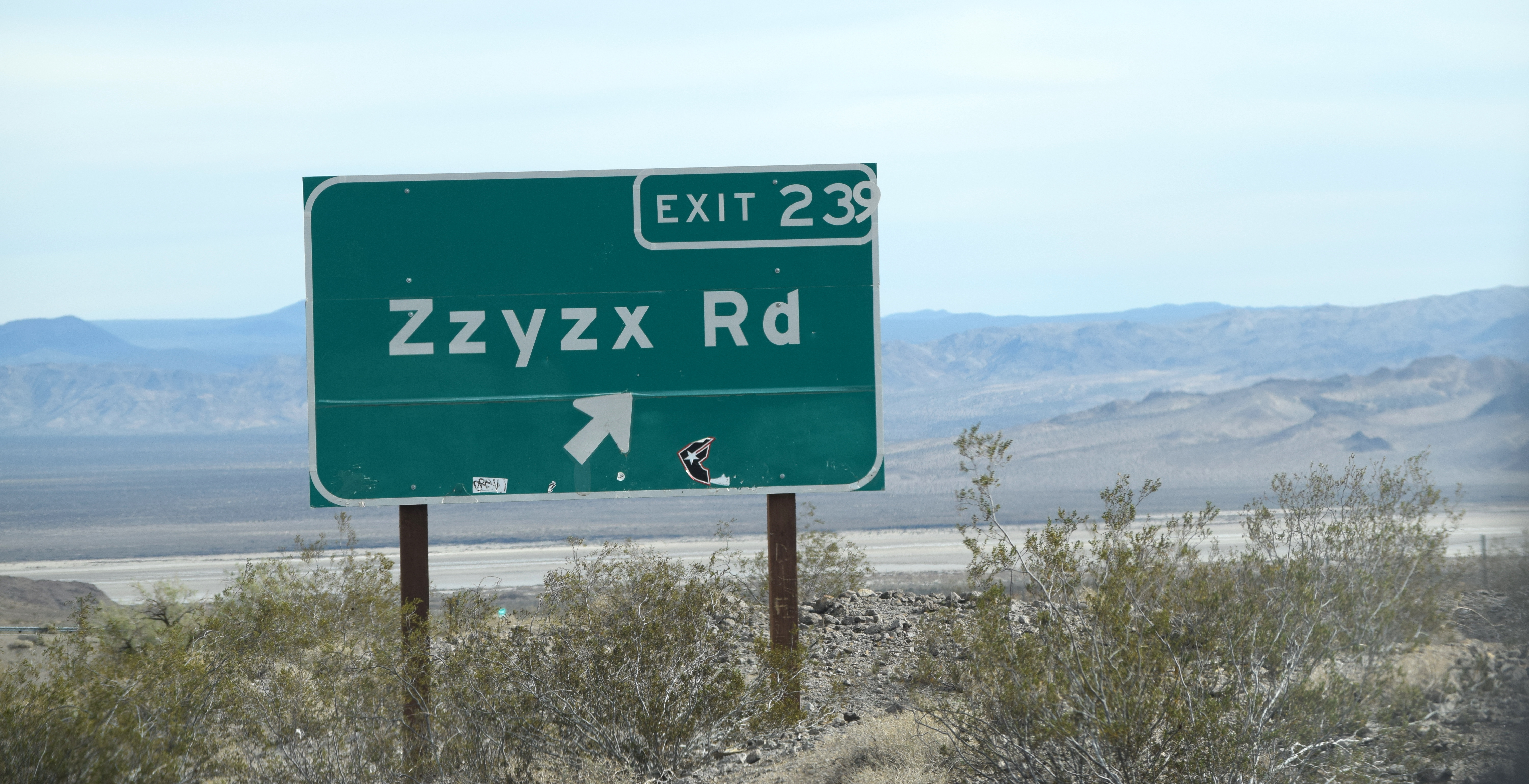 Jordan Novack Zzyzx Road, the most famously obscure street in the country