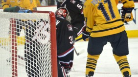 Quinnipiac men's hockey vs St. Cloud State 10/24/15