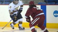 Quinnipiac women's hockey vs Harvard 12/5/15