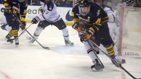 Quinnipiac men's hockey vs UConn 11/17/15